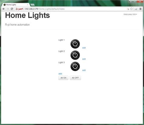 raspberry pi gpio home automation