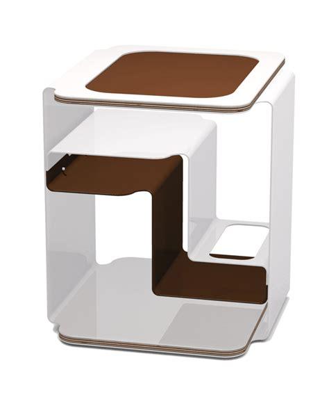 designer beistelltisch designer beistelltisch weiss mit multiplexplatten couchtisch