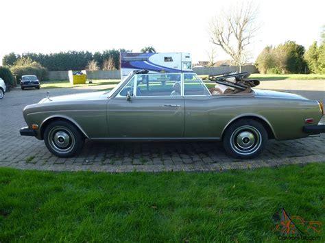 1978 rolls royce corniche 1978 rolls royce corniche convertible left drive