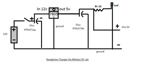 Charger 12v Accu To 5 V Handphone membuat charger hp di sepeda motor muharfan95