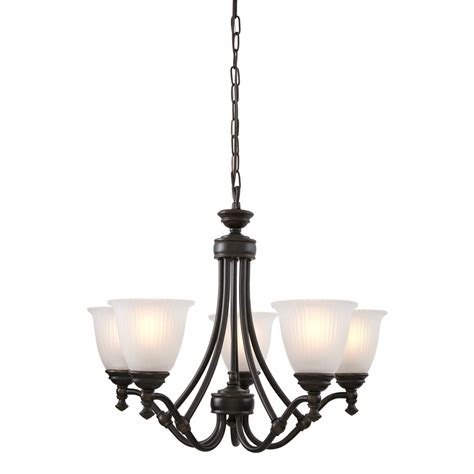 renovation lighting shop progress lighting renovations 25 in 5 light forged bronze etched glass shaded chandelier at