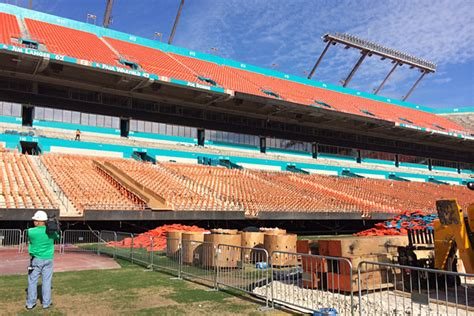 in color at sun stadium in miami gardens dan marino miami dolphins espn