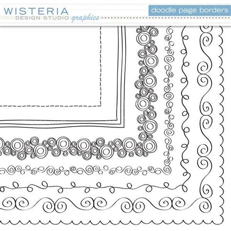 Wedding Border Twinkl by 25 Best Ideas About Page Borders On Doodles
