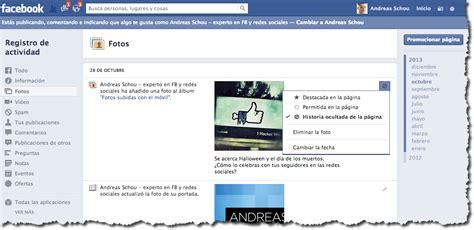 imagenes ocultas facebook c 243 mo hacer visible una publicaci 243 n oculta en facebook