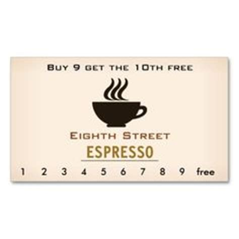 Coffee Punch Card Template Free by Customer Loyalty Cards Are An Excellent Way To Reward Your