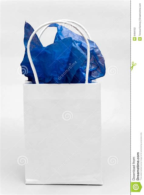 light blue paper gift bags white gift bag stock photo image of paper tissue