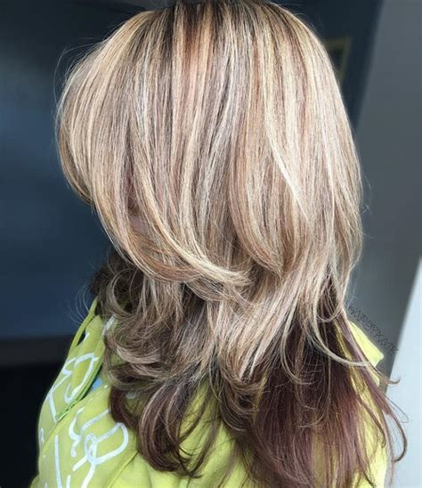 images of blonde layered haircuts from the back 40 cute and effortless long layered haircuts with bangs