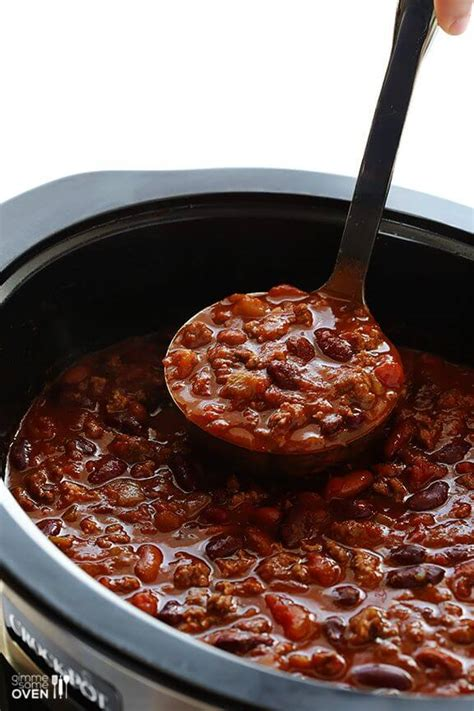 slow cooker chili gimme some oven