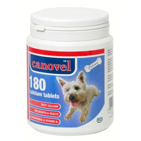calcium supplements for dogs buy hatchwell canavel calcium tablets for dogs cats 180 tablets