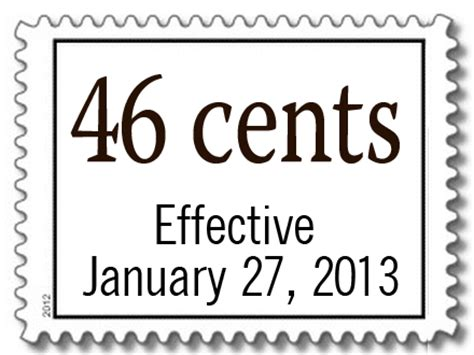 postage rate increase scheduled for january 2013 perfect
