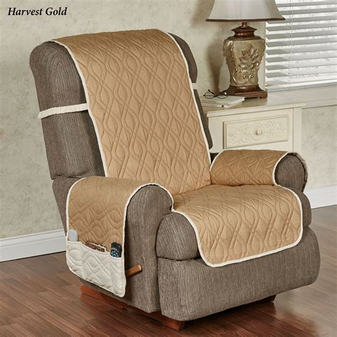 furniture protectors for recliners brilliant reversible furniture protector with straps