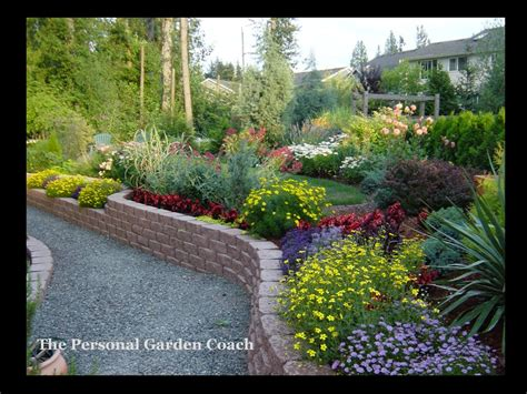 Landscaping Ideas On A Slope Www Imgkid Com The Image Sloped Backyard Landscaping Ideas