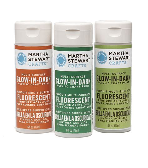 acrylic paint martha stewart martha stewart 6oz glow in the acrylic paint jo