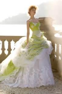 white and light green colours wedding gown adworks pk