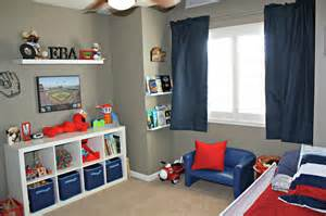 Toddler Boy Bedroom Ideas by All Things Katie Marie Big Boy Baseball Room