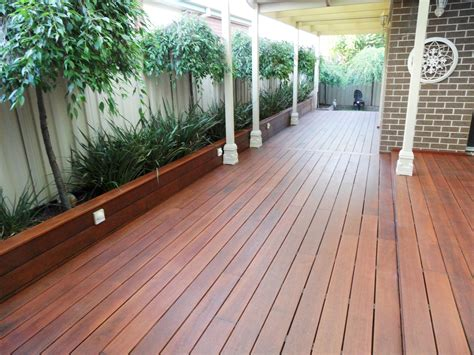 Decking Patio by Point Cook Merbau Decking No Nail Decking