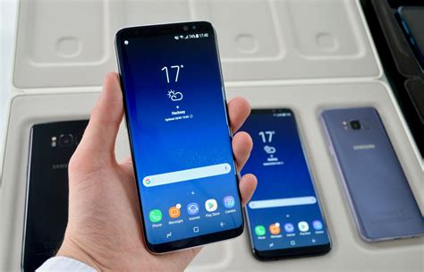 samsung galaxy s8 and s8 plus on a guide to the new flagship smartphones