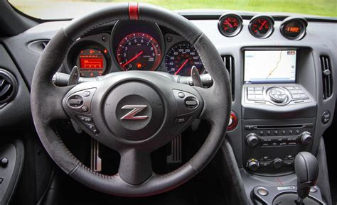 nissan 370z interior car and driver