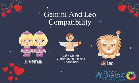 gemini and leo compatibility love and friendship