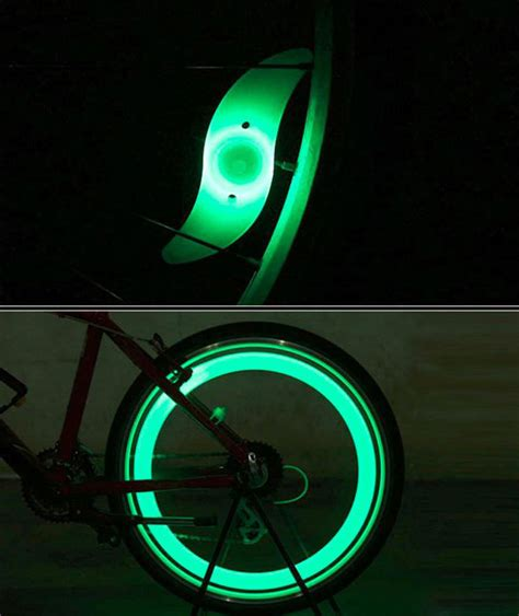 Lu Sepeda Clip On Multifungsi 1pcs Lu Ban Sepeda Colorful Led Bicycle Wheel Light 1 Pcs Multi Color Jakartanotebook