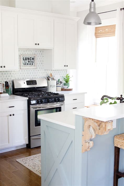 The Lettered Cottage Kitchen by Kitchen Update More Decorating Top Market