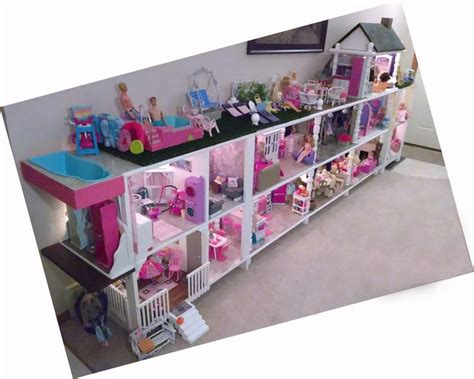 best barbie doll house ever best 25 homemade barbie house ideas on pinterest barbie
