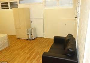 one bed studio flat in a converted shed for rent