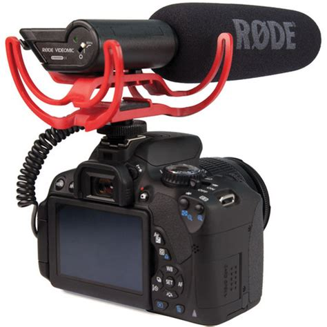 Murah Rode Videomic Pro With Rycote Lyre Suspension Mount rode videomic w rycote lyre suspension system