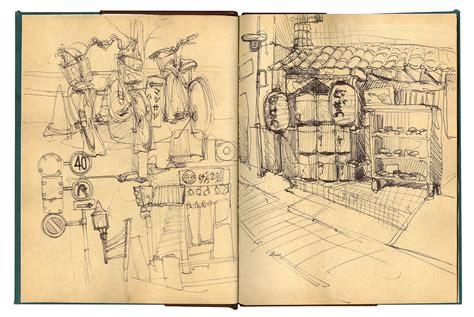 Japan Sketchbook Jenniferleaver