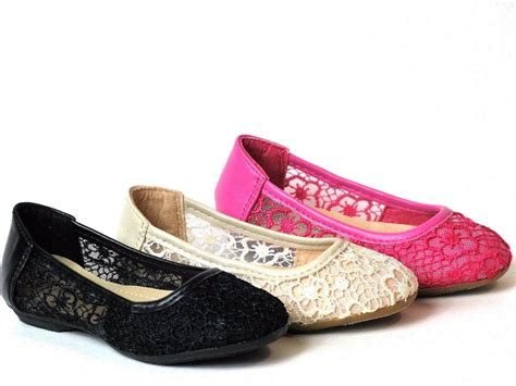 baby slip on shoes baby toddler lace crochet slip on shoes ballet flats