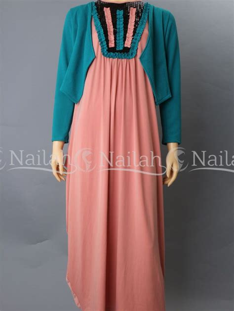 Gamis Pesta 2 Warna 30 best images about busana pesta muslimah on
