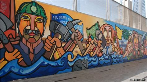 Military Wall Murals the chilean muralists who defied pinochet bbc news