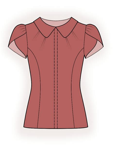blouse pattern name blouse sewing pattern 4379 made to measure sewing