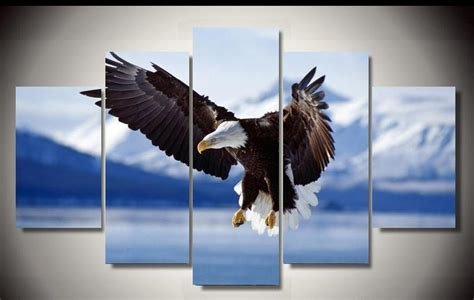 spray paint eagle aliexpress buy eagle soar canvas arts for home