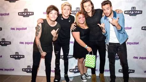 Meet One Direction 1d Condition my meet and greet with one direction the audio is me and them talking when we met