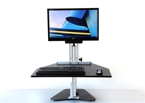 Kangaroo Adjustable Height Desk Kangaroo Pro Adjustable Desk The Awesomer
