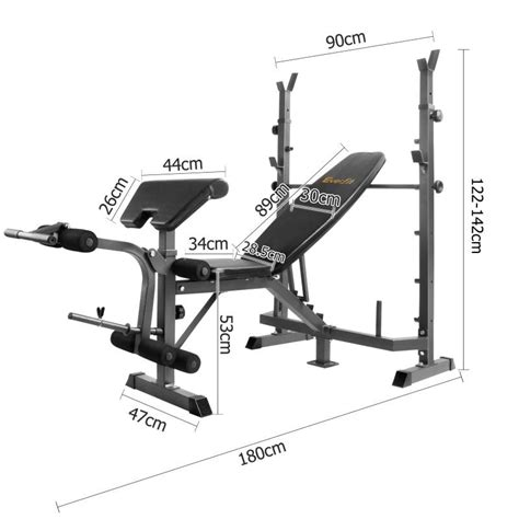 Tas Batam Branded Hm Set 6022 5 black multi functional fitness weight bench buy weight