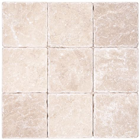 Red Tiles For Kitchen Backsplash botticino beige tumbled marble mosaic tiles 4x4 natural