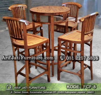Jual Kursi Bar jual kursi bar kayu jati model banteng arif jati furniture