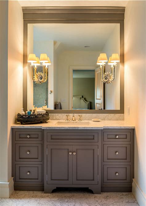 Bathroom Cabinets With Lights Rise And Shine Bathroom Vanity Lighting Tips