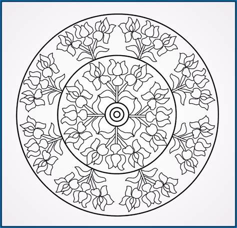 imagenes de mandalas rosas mandalas para colorear con flores archivos dibujos de