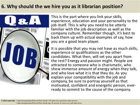 popular interview questions and how to answer them cv library