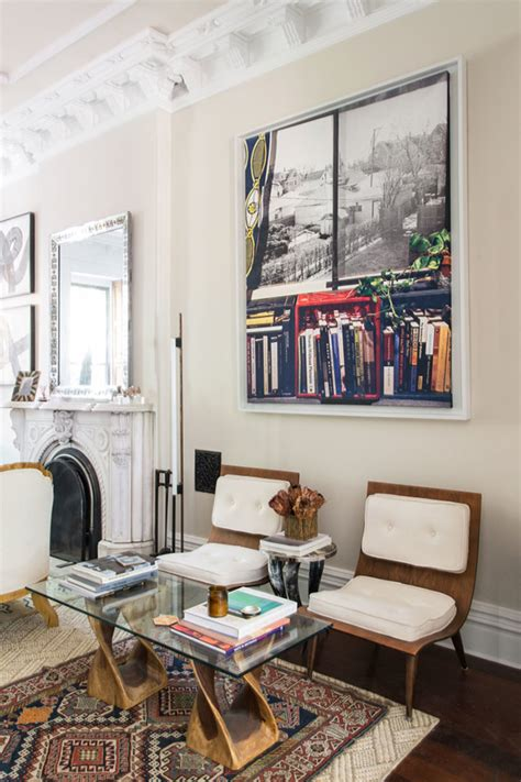living room in brooklyn home tour collected brooklyn brownstone coco kelley