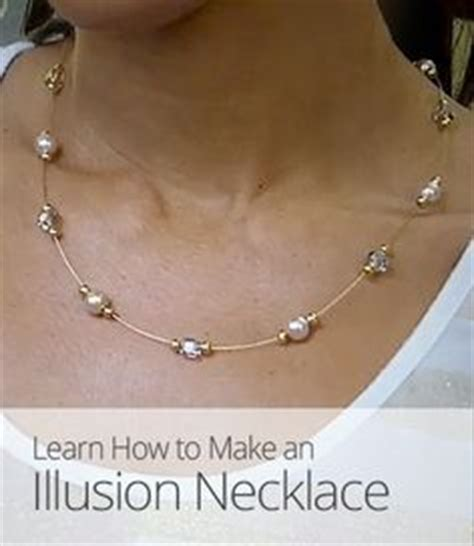 what do you need to make jewelry this illusion necklace is so much to make plus you