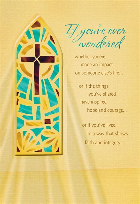 You Make a Difference Religious Clergy Appreciation Card