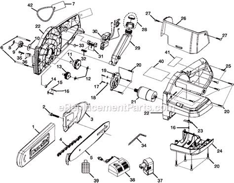 Ryobi Cs1800 Parts List And Diagram Ereplacementparts Com