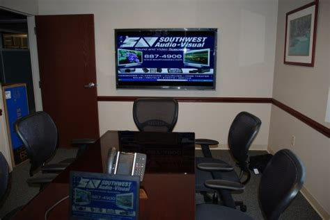 Conference Room Tv by Led Lcos And Plasma Tvs Southwest Audio Visual