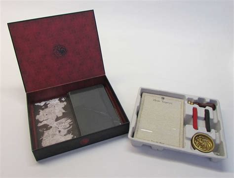 outlander deluxe stationery set books of thrones house targaryen deluxe stationery set