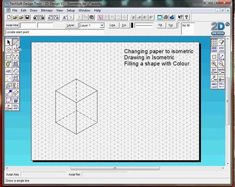 2d design 2d design introduction basic tools isometric drawing practice