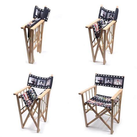 sedie de sedia da regista personalizzata sta tuo nome e foto